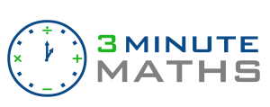 3 minute math Final logo