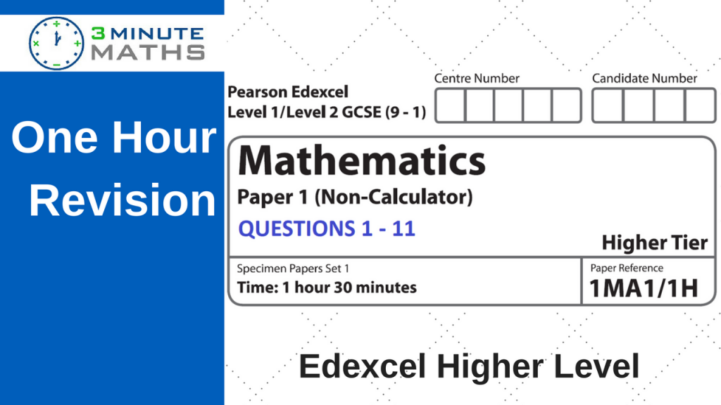 Edexcel GCSE Maths Past Paper
