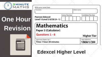 Edexcel Higher GCSE Maths Revision