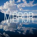 How to reflect shapes on a mirror line