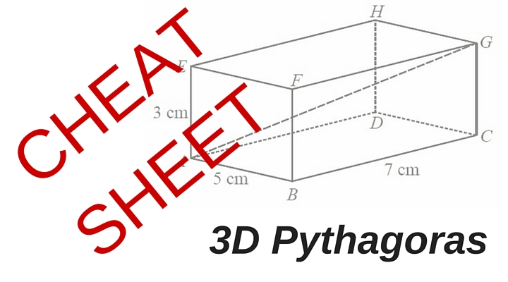 How to work out 3D Pythagoras