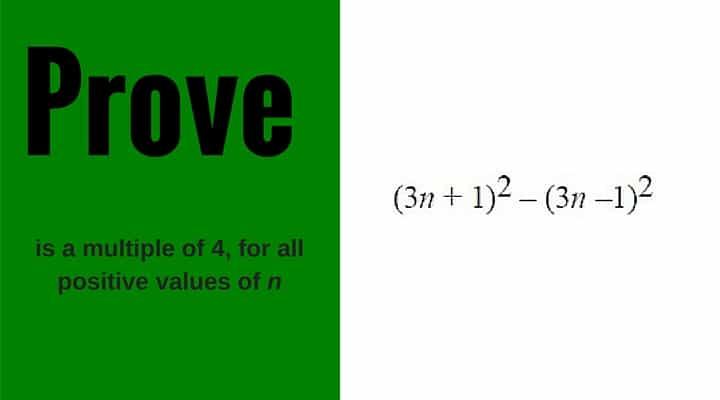GCSE Mathematics Proof Questions