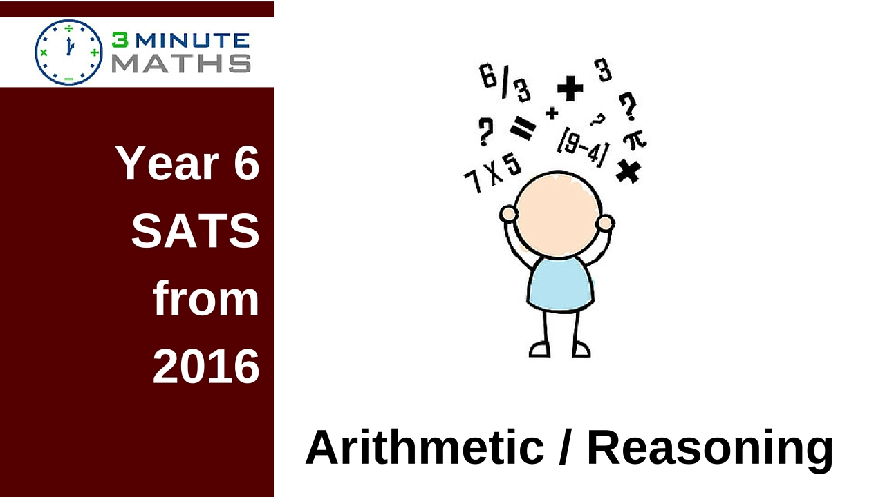 Year 6 Sats Arithmetic And Reasoning Quick Tests