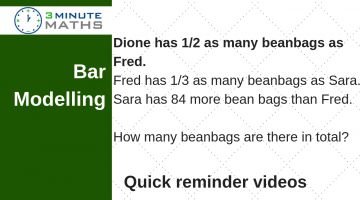 Bar Modelling Question Year 6 – Beanbags